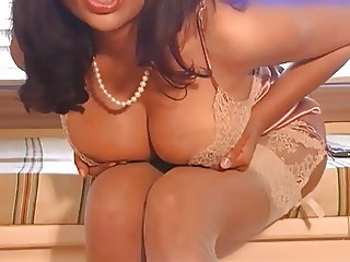 Sexy Indian Milf in See through Lingerie
