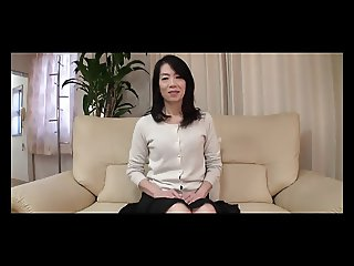 53yr old Granny Yukiko Asaba Gets Creampied Uncensored