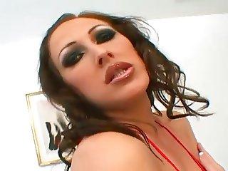 Superb Mandy Bright gangbanged