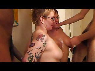 Steph Debar et Julina Wild Gang Bang suite et fin
