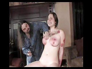 Spanked Teen Tits