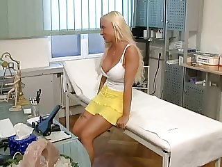 German Blonde cum swallow