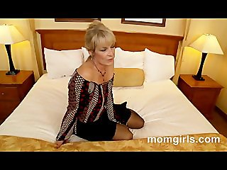 Sexy milf fucking young cock and gets facial
