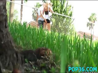 Posh teen babe gets drilled