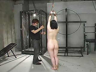 Suspending Whipping A Cute Japanese M