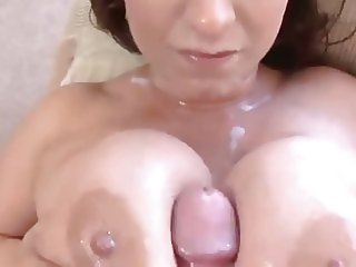 Eva Notty Facial And Tits Cumshot