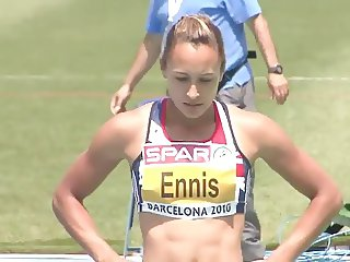 Jessica Ennis UK Olympic Gold Medal ASS Ameman