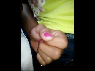 encoxada pink nails