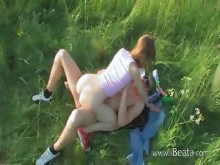 Brutal teenagers anal outdoor havingsex