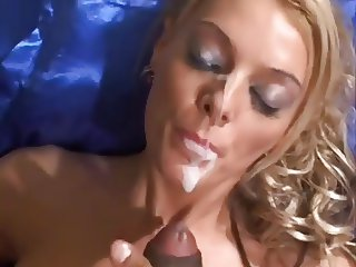 british blonde cumpilation