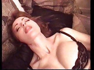 Vintage Interracial big tit redhead