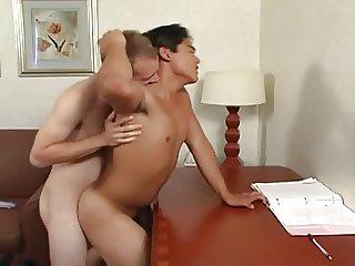 Boyfriends get hot and vigorous