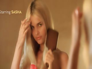 Sasha wetting beauty glamour wow girl