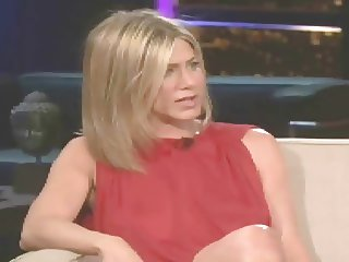 Jennifer Aniston Braless on Chelsea Lately