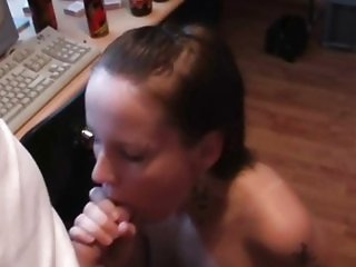 Amateur sucking and fucking