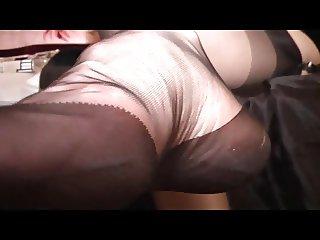 Lick my nylons