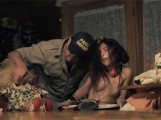 Park ranger and his little innocent victim porn video