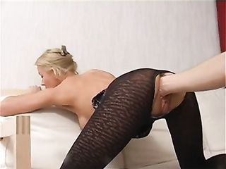 Her gaping asshole can be satisfied only by a hand