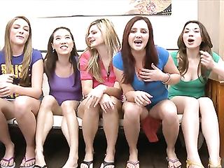 College girls gangbang